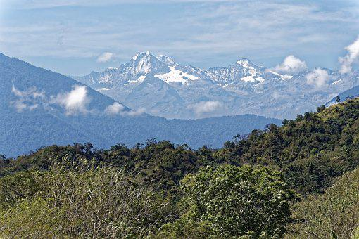 Colombia, Mountains, Landscape, Sky, Clouds, Travel