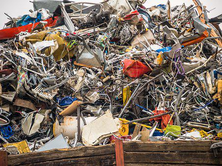 Port, Scrap Recycling, Scrap, Trade, Press, Stuttgart