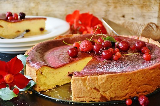 Cake, Cheesecake, Berries, Bake, Pastries, Sweetness