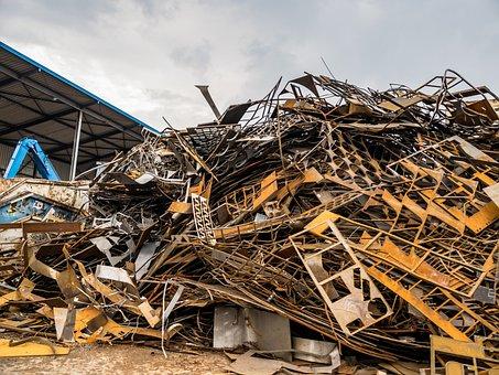 Port, Scrap Recycling, Scrap, Trade, Stuttgart, Iron