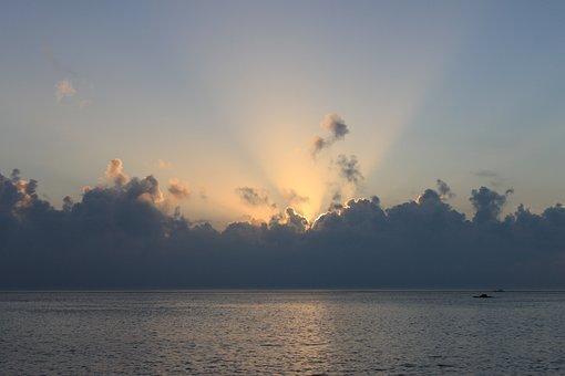 Cloud, Nature, Sky, Landscape, Scenery, Twilight, Sea