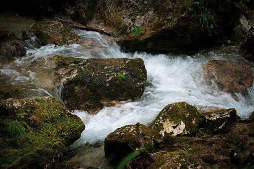 Water, Fall, Natural, Austria, Nature, Outdoors