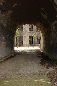 Abandoned, Heritage, Poison Gas, Japan, Historic