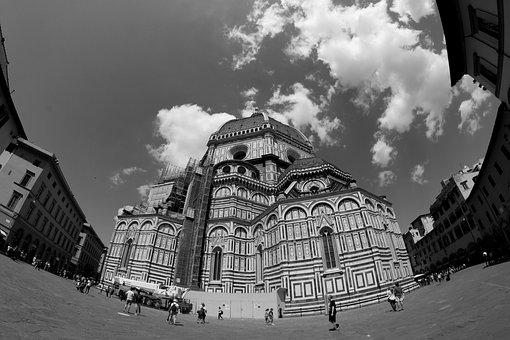Florence, City, Dom, Church, Architecture, Building