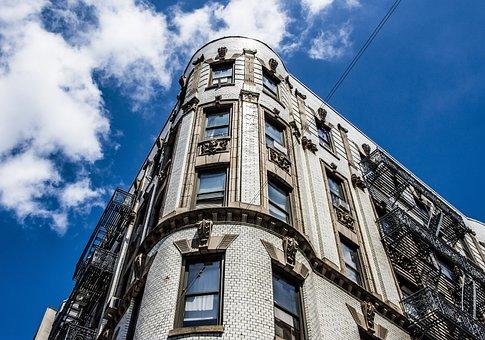 Building, Historic, New York, Manhattan, Chinatown