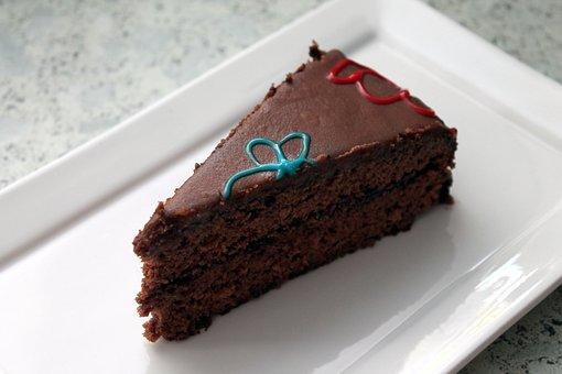 Chocolate Cake, Cake, Chocolate, Sweet, Delicious, Food
