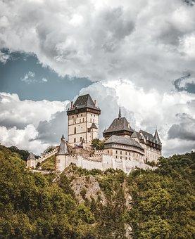 Castle Karl Stone, Castle, Karlstein, Czech Republic