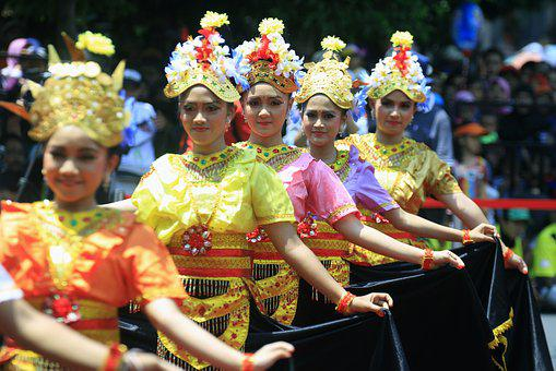 Dance, Art, Indonesian, Girl, Dancer