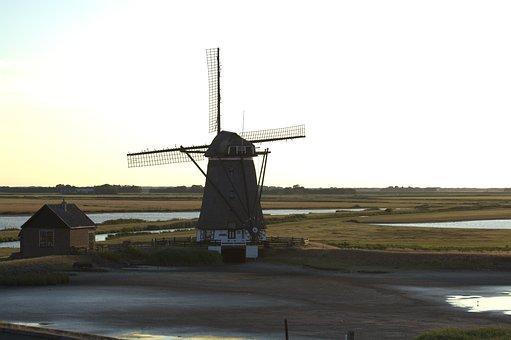 Het Noorden, Mill, North Holland, Windmill, Texel