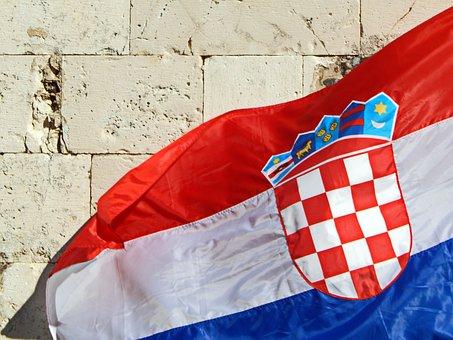Croatian Flag, Flag, Hrvatska Zastava, Hrvatski Grb