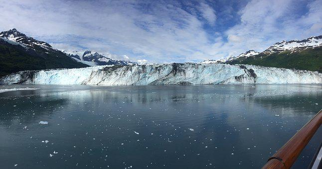 Glacier, Ice, Alaska, Frozen, Snow, Water, Nature
