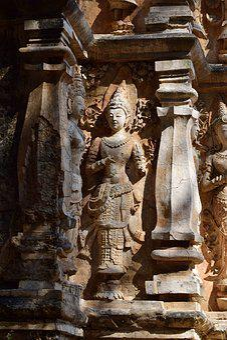 Archaeological Site, Idol, Pagoda