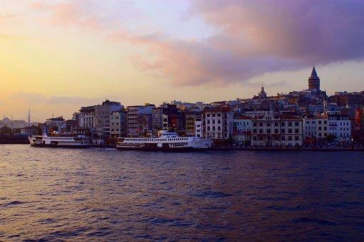 Karaköy, Istanbul, Turkey, Beyoğlu, Eminönü, Galata