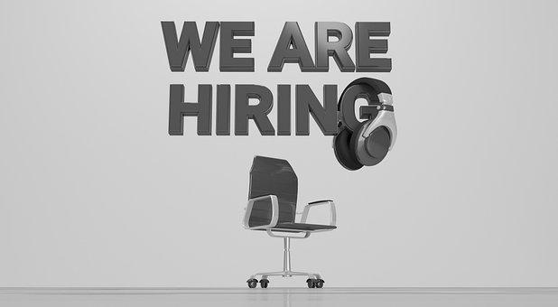 Hiring, Job, Office, Business, Employee, Looking