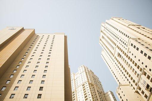 Dubai, Skyscraper, Marina, Architecture, Modern