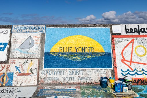 Landscape, Painting, Mural, Art, Trip, Marina