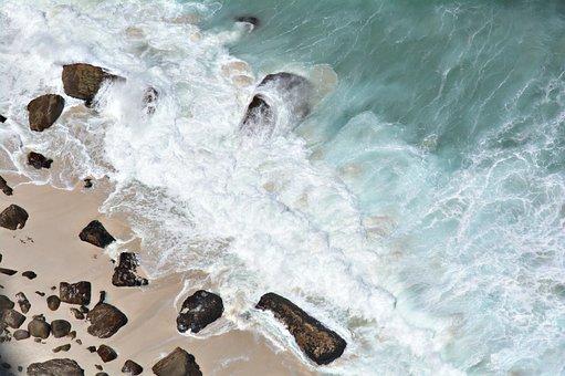 Beach, Waves, Shore, Sea, Water, Wave, Ocean, Coast