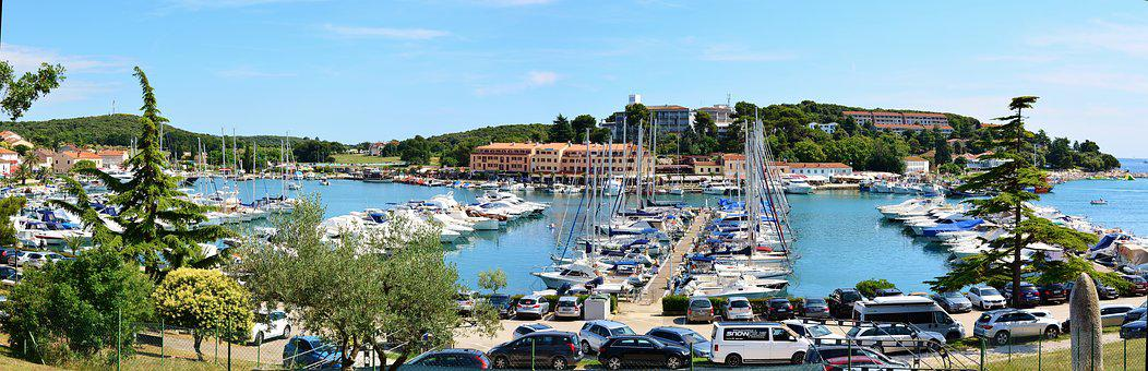 Panorama, Port, Istria, Vrsar, Vacations