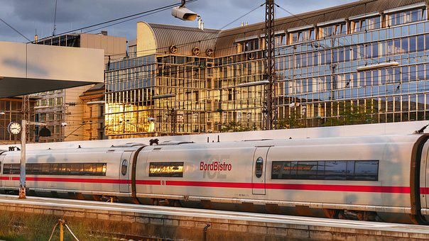Munich, Railway Station, Railway, Transport System