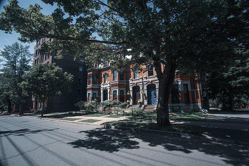 Saint John, Street, Historical Buildings, New Brunswick