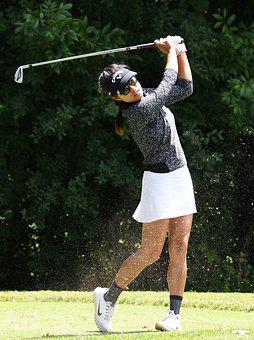 Golf, Golfing, Golfer, Lpga, Symetra, Asian, Sport