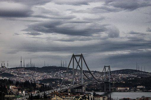 Bosphorus, Istanbul, Throat, Marine, Tourism, Blue