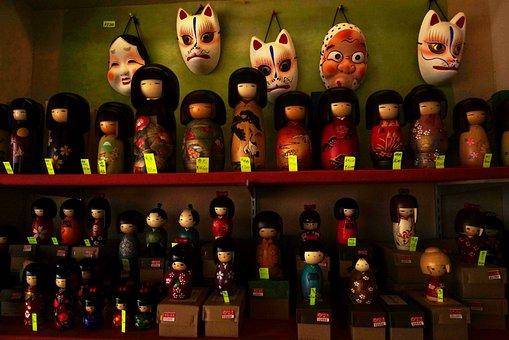 Doll, Japanese, Horrible, Toys, Oriental