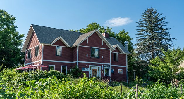 Architecture, Vermont, Rural, House, Old, Country