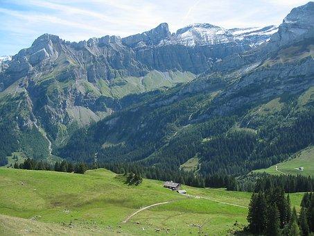 The Alps, View, Nature, Mood, Nostalgia, Landscape