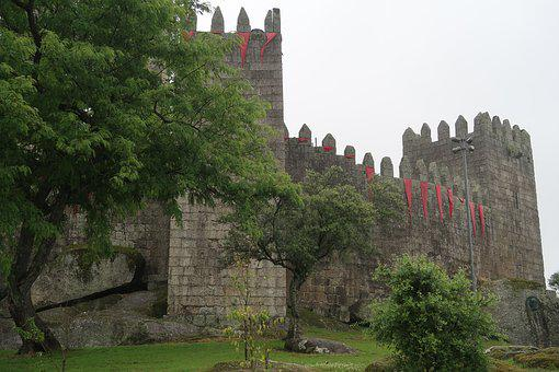 Guimares, Castle, Wall