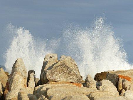 Rocks, Wave, Sea, Scenic, Nature, Landscape, Water