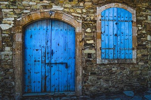 Door, House, Architecture, Traditional, Window