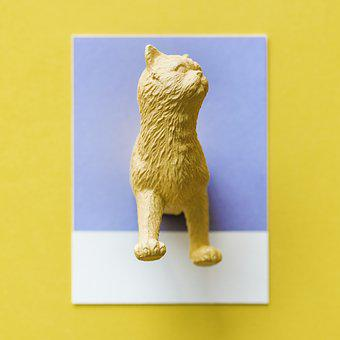 Abstract, Animal, Art, Background, Card, Cat, Colorful