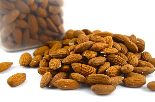 Almond, Nuts, Food, Snack, Healthy, Organic, Brown