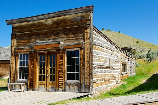 Bannack Assay Office, Montana, Bannack, Ghost Town