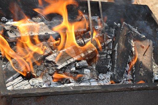 Ali, Barbecue, Embers, Fire, Flame, Coal, Hot, Burn