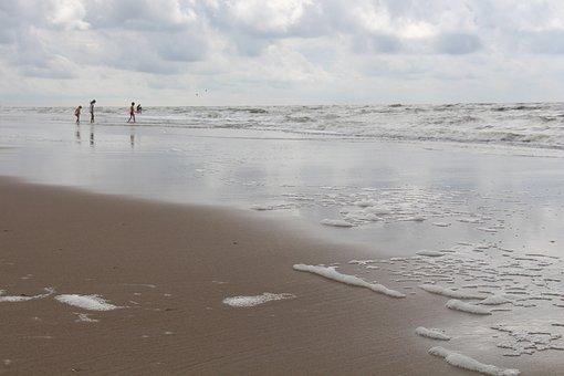 Sea, Zandvoort, Beach, Badeurlaub, Summer, Sand