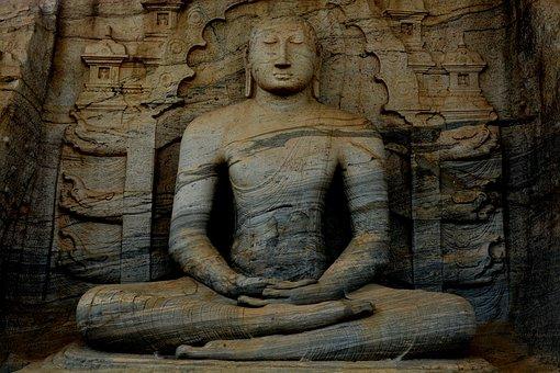 Temple, Sri Lanka, Travel, Buddha, Religion, Statue