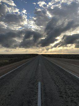 Australia, Road, Highway, Freeway, Cars, Sky, Landscape
