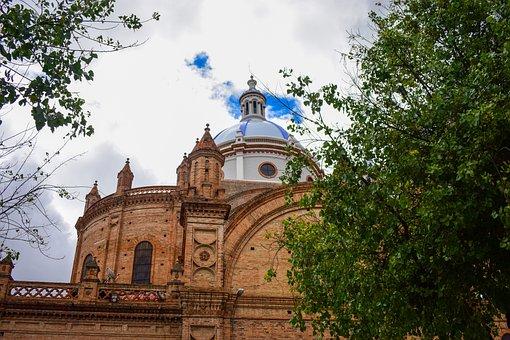 Cathedral Of Cuenca, Cuenca Ecuador, Cathedral