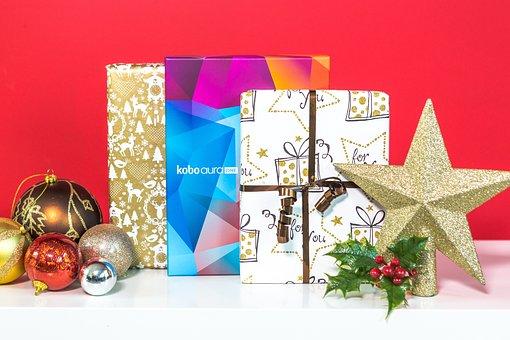 Christmas, Gift, Decoration, Holiday, Winter, Kobo