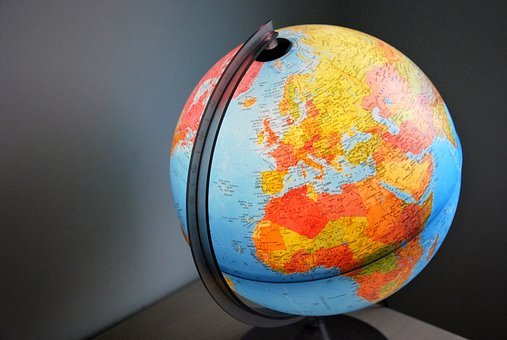 World, Map Of The World, Balloon, Earth, Planet