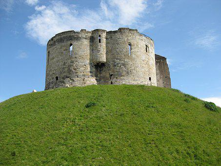 Clifford's Tower, York, England, Medieval, Castle