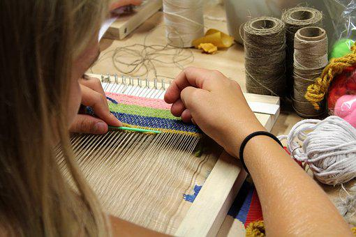 Weaving, Weave, Wool, Woven, Web, Textiles, Fiber