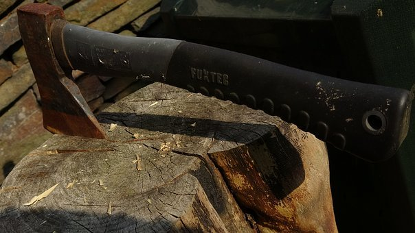 Axe, Wood Axe, Ax, Wood, Tool, Hack, Sharp, Blade, Work