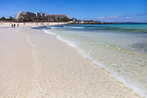 Sand, Air, Beach, Nature, Sea, Blue, Holiday, Travel