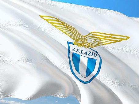 Football, International, Italy, Seria A, Flag, Lazio