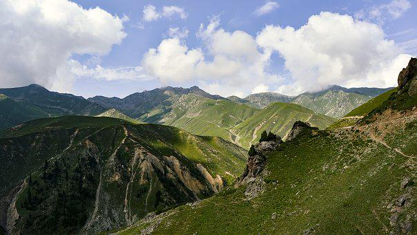 Nature, Mountain, Landscape, Mountains, Sky, Clouds