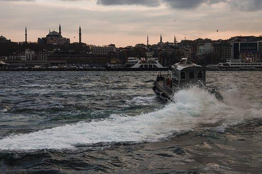 Eminönü, Marine, Istanbul, Karaköy, Turkey