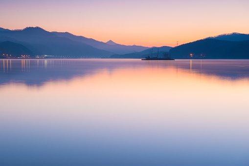 Two Water Head, Dawn, Sunrise, Misty Morning